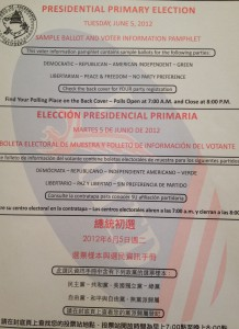 Voter Information Pamphlet