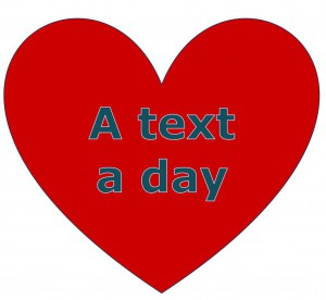 A text a day