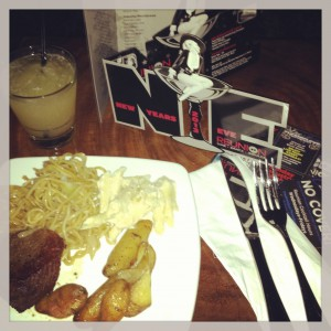 Food and beverage in a club