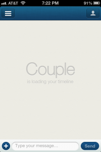 Couple an app for couples screen shot