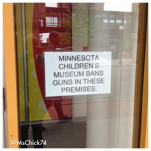No guns allowed at the Minnesota Children's Museum