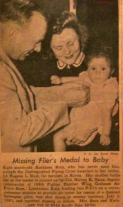 Medal Awarded to Baby
