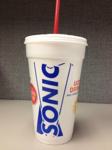 Sonic, fast food, beverage, drinks