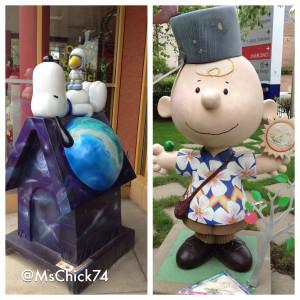 Peanuts Statues St Paul