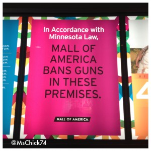 No guns allowed at Mall of America