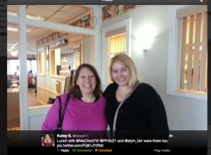 Me & Katey at Krolls Diner
