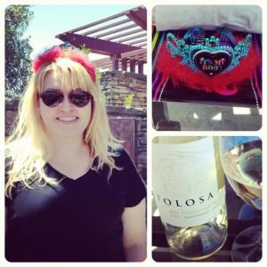 tiara, wine, San Luis Obispo