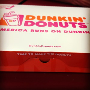 box, doughnuts, dozen