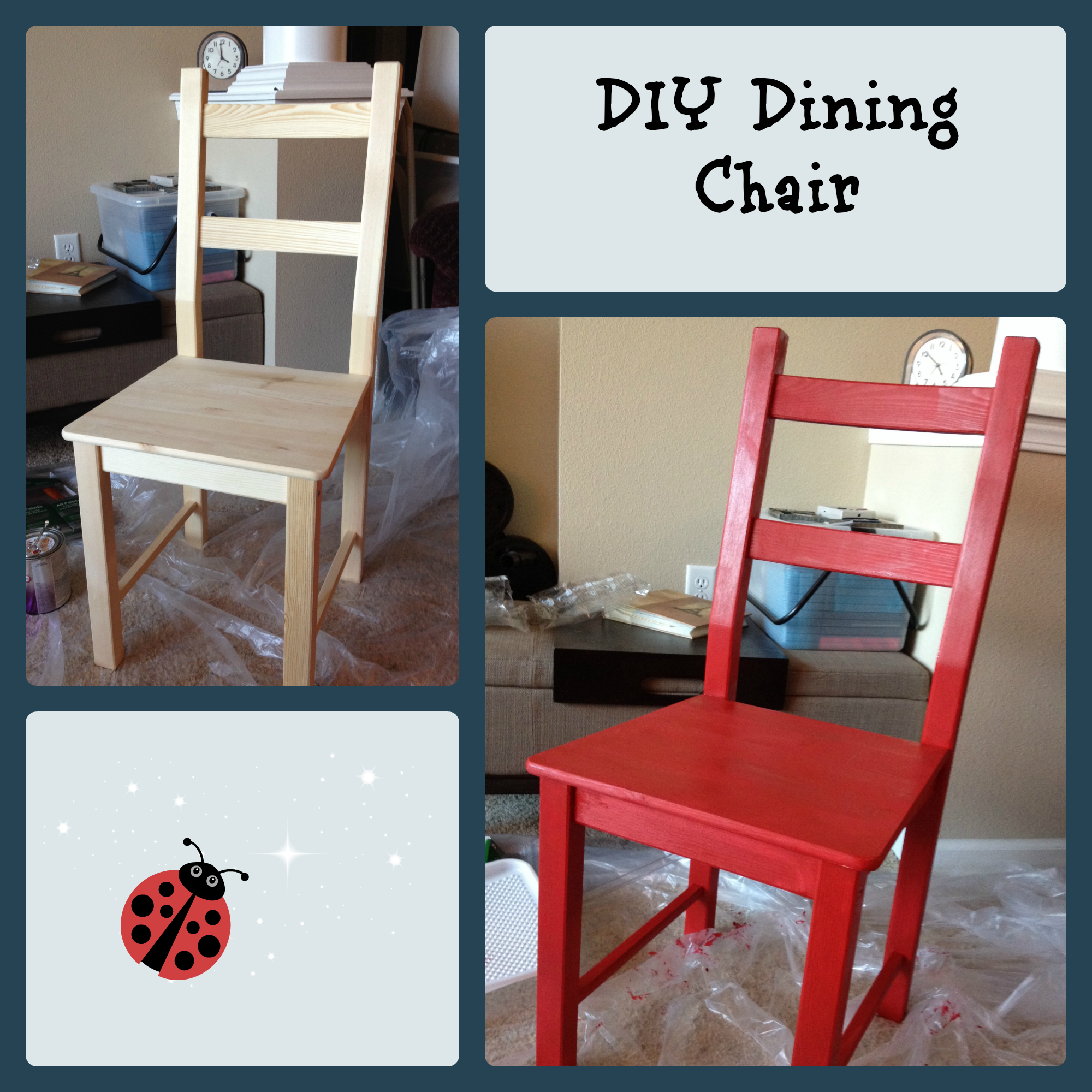How To Paint A Chair Chronicles Of Nothing