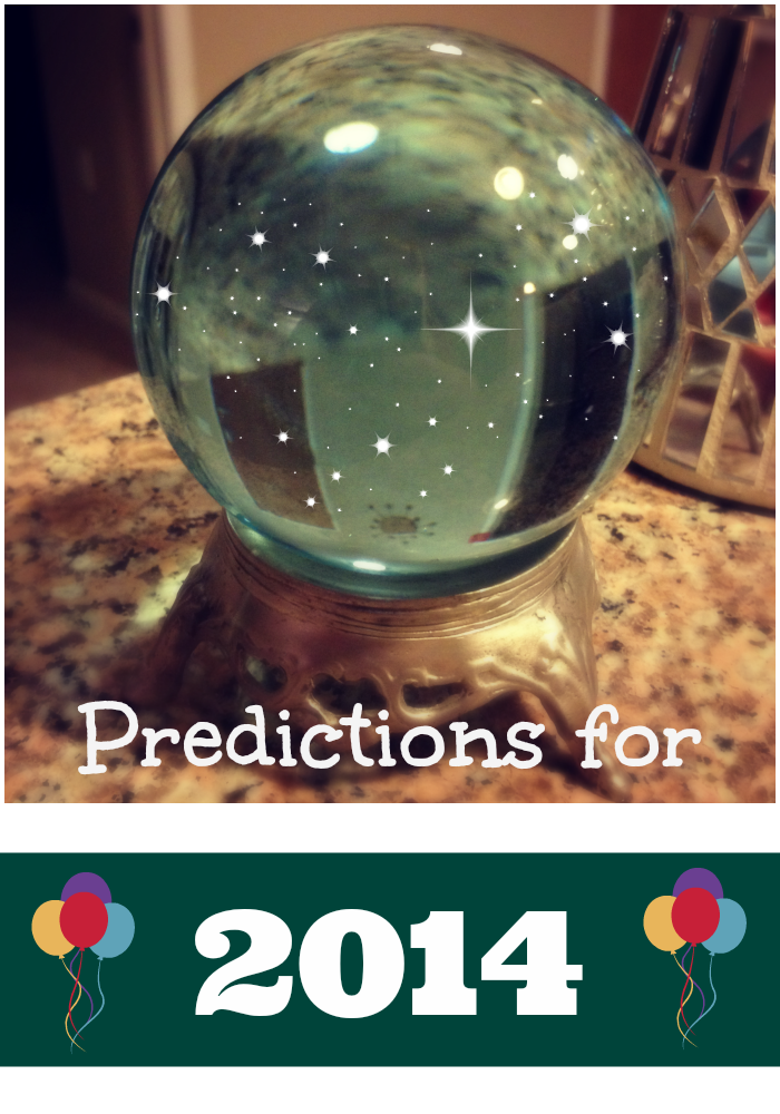Five Predictions for 2014