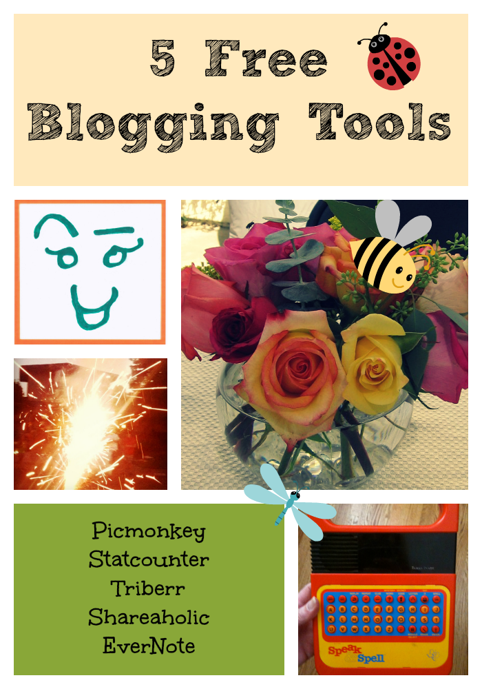 My 5 favorite free blogging tools