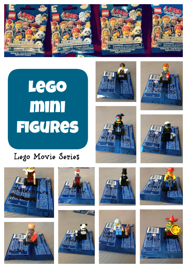 Bumping the codes for LEGO Minifigures: The LEGO Movie series