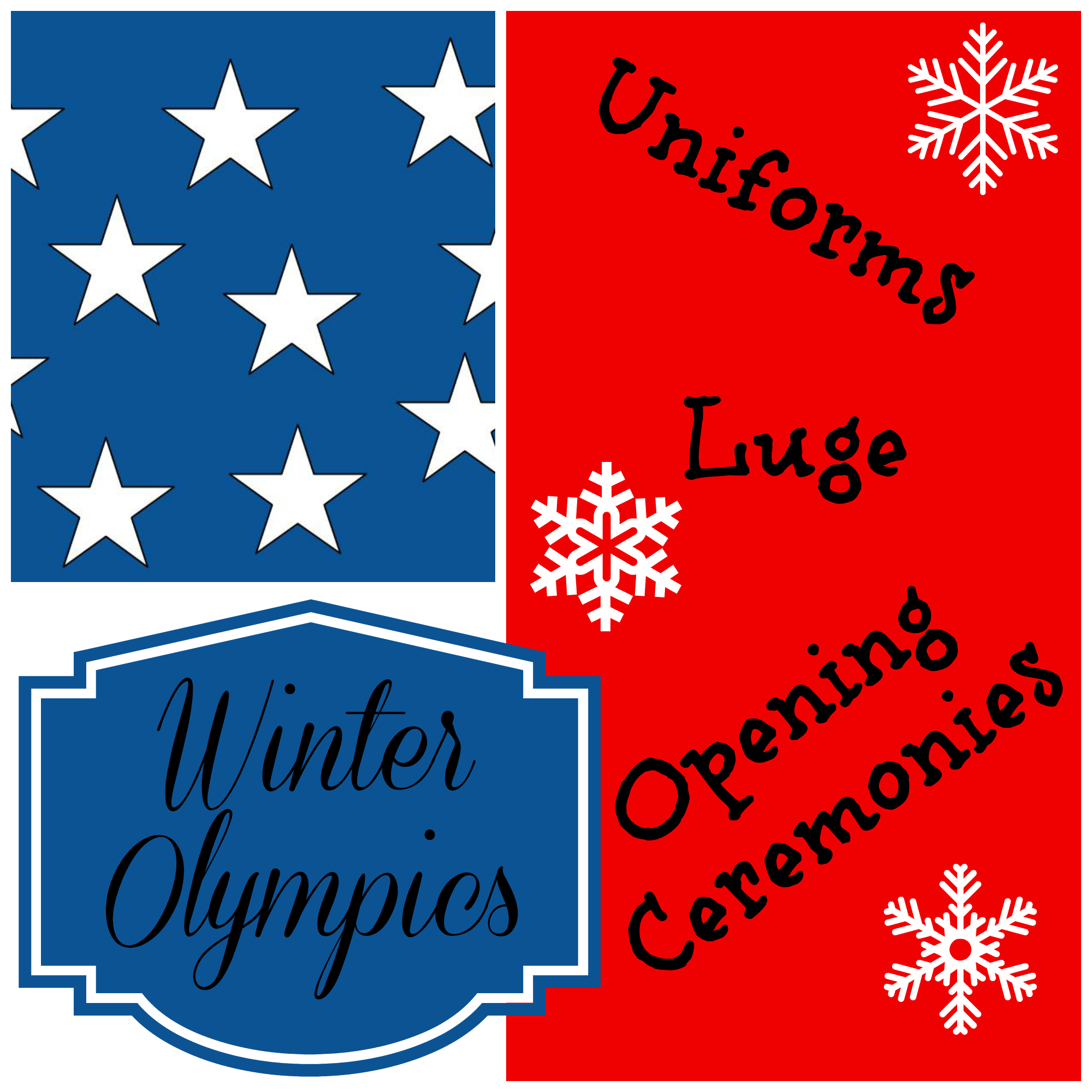 Random Thoughts on the Winter Olympics