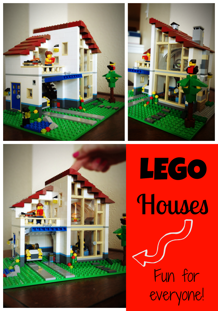 LEGO Houses for adults and kids alike