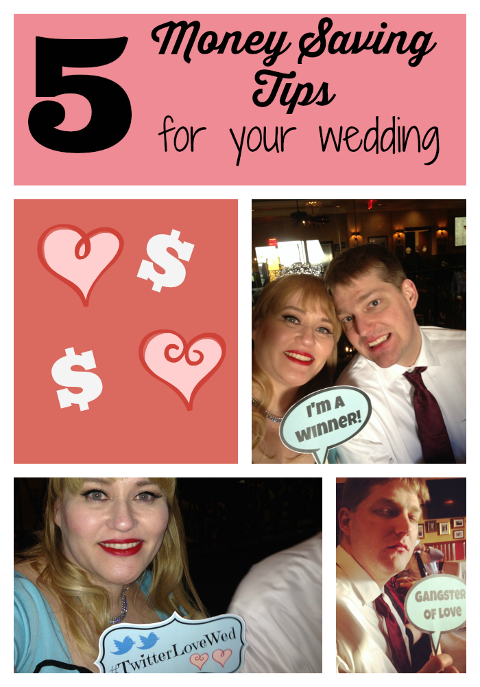 Five money saving tips for your wedding (that could save your sanity too)