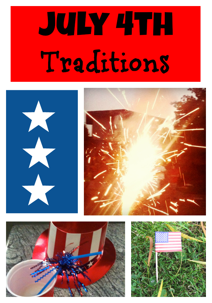 Independence Day: July 4th decor, songs, and food.