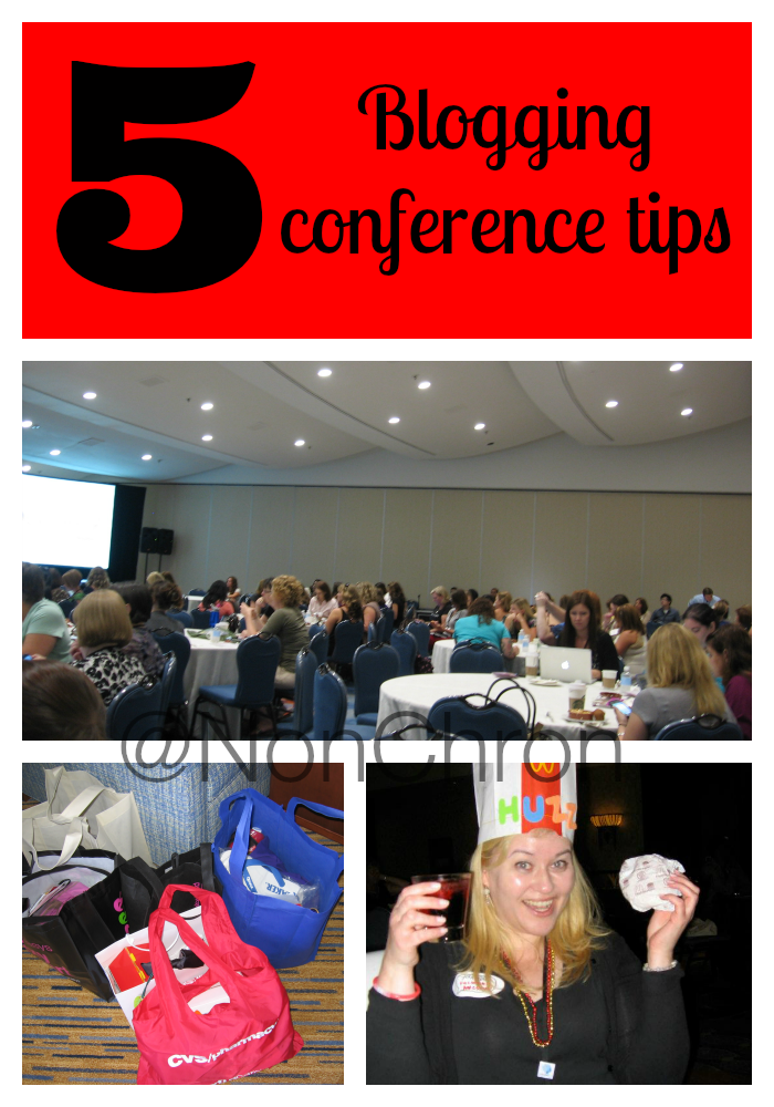Five tips for attending a blogging conference: #BlogHer14