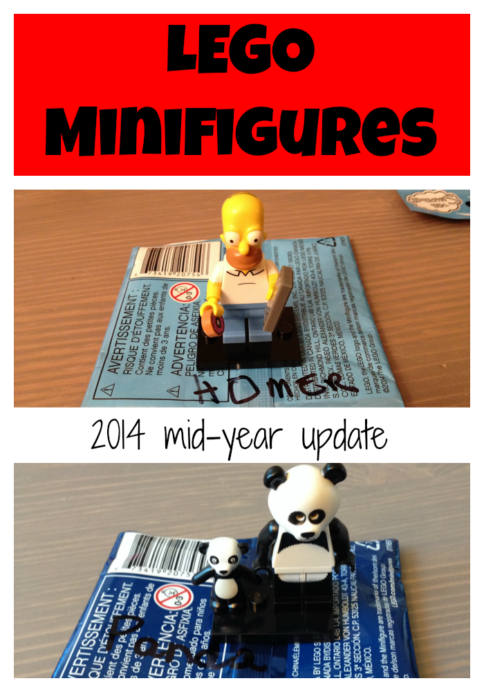 LEGO minifigures series 2014 update