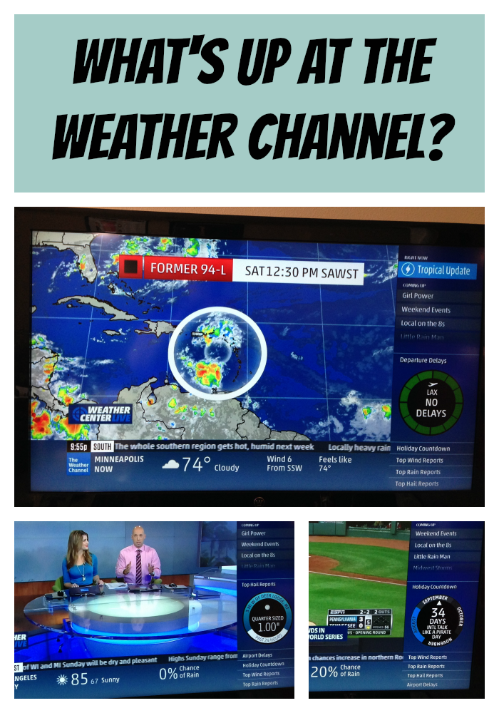What's up at the Weather Channel?