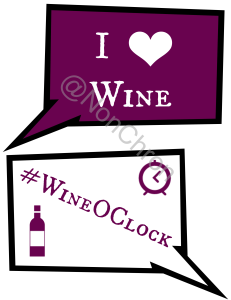 Wine party photo booth props
