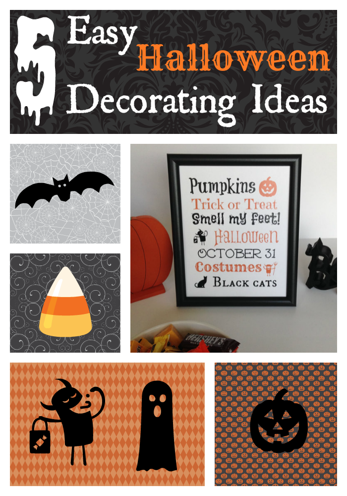 Halloween Decoration Ideas: 5 Easy & Inexpensive Tips