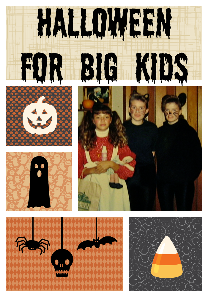 Halloween as a big kid