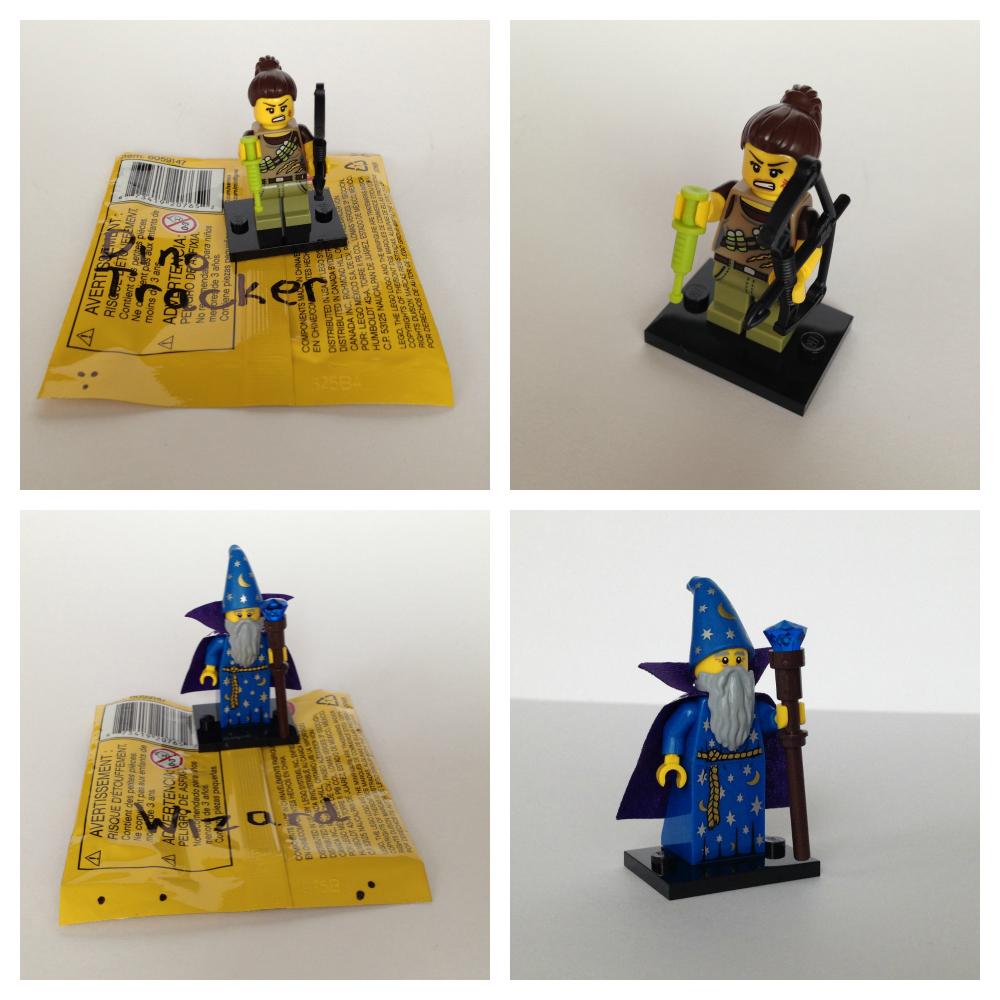 Lego minifigures bump codes series 12 1