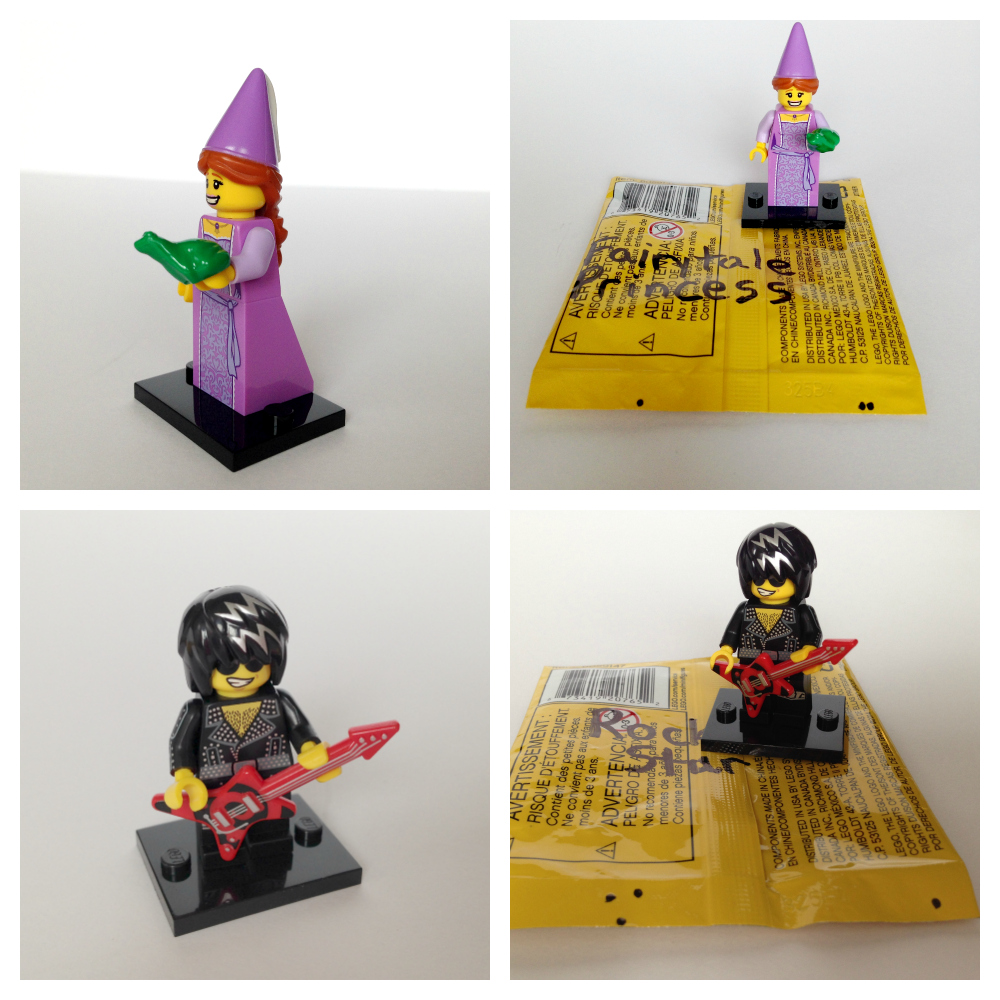 Lego minifigures bump codes series 12 2