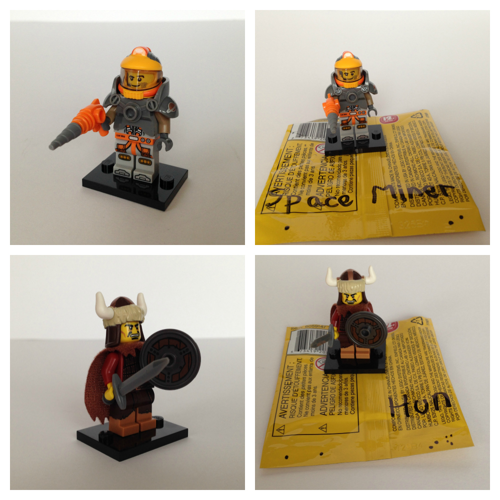 Lego minifigures bump codes series 12