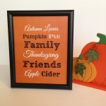 Printable Thanksgiving Decor on Etsy