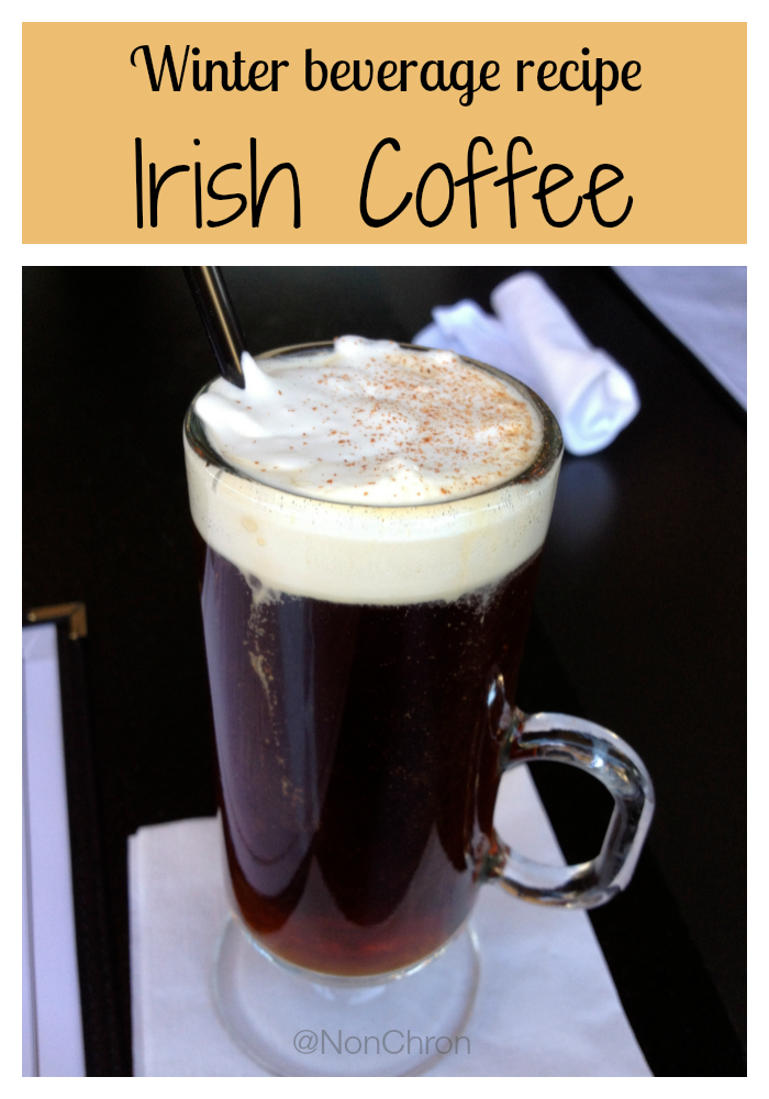 Winter Beverages: Irish Coffee