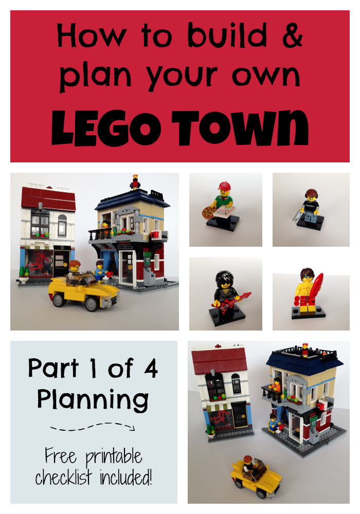 How to plan a LEGO town