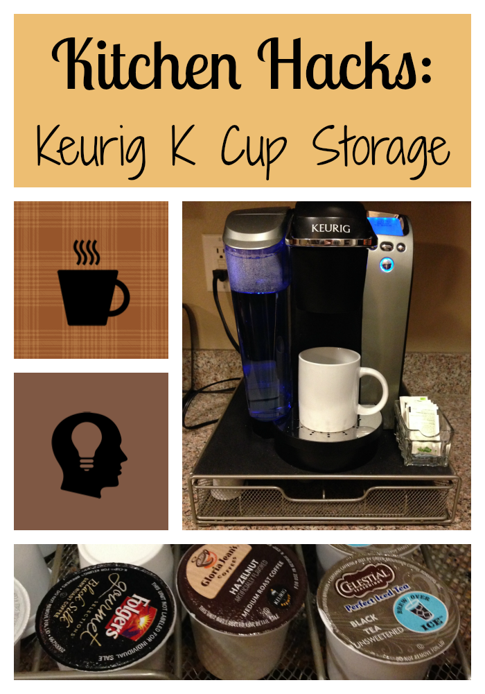 Coffee Maker Cooking Hacks : Kitchen Hacks: Keurig K Cup Storage