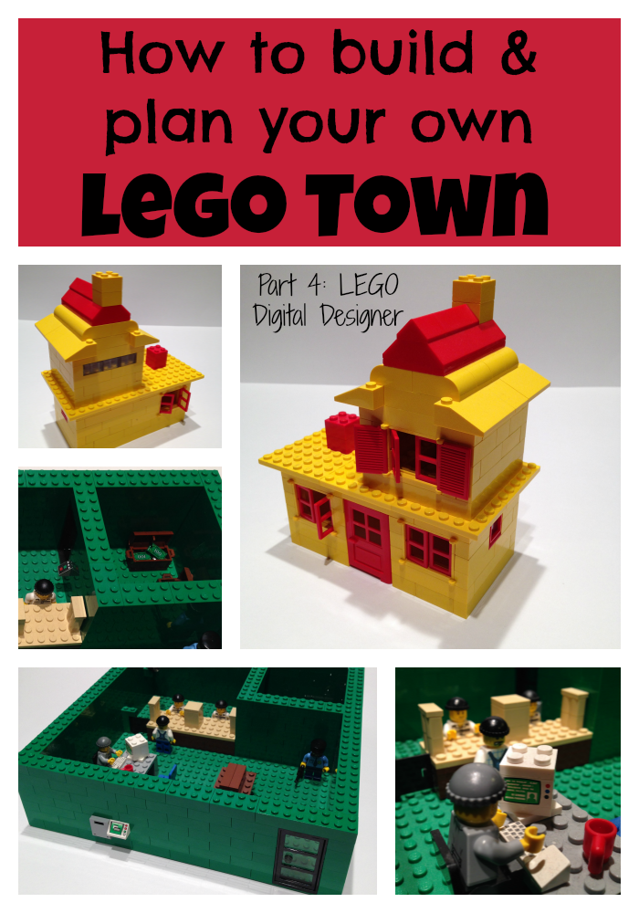 How To Build A Lego Town Part 4 Lego Digital Designer
