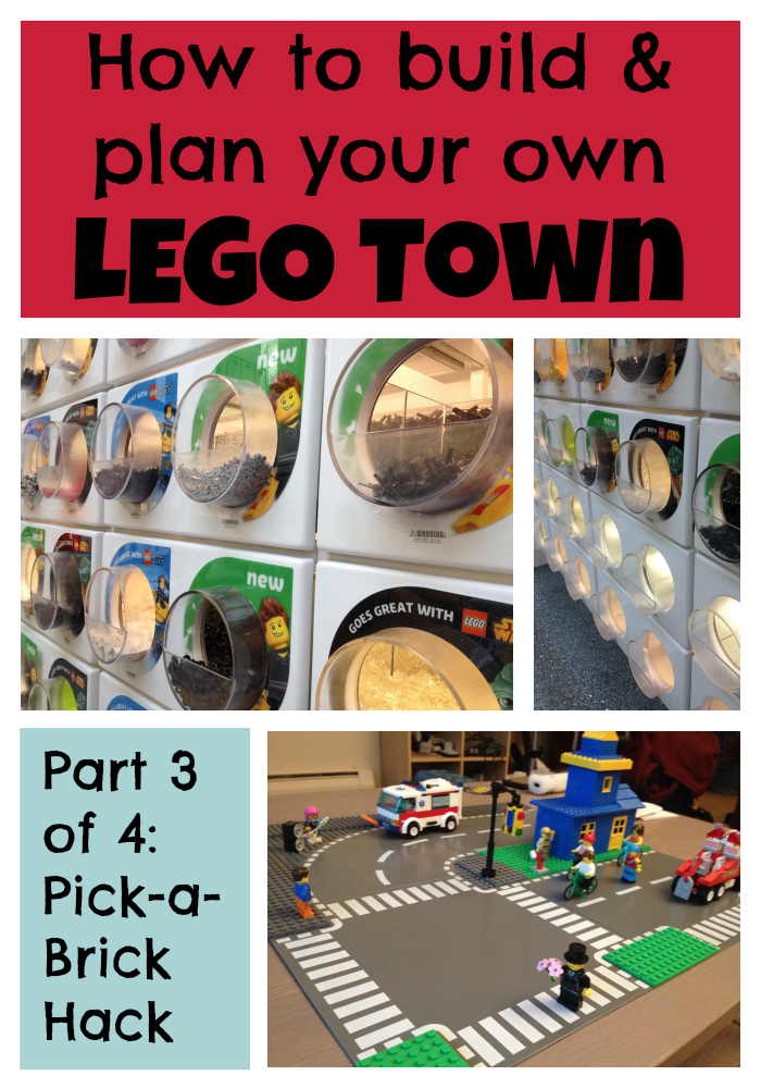 How to build a LEGO town: Part Three - Pick-A-Brick hack