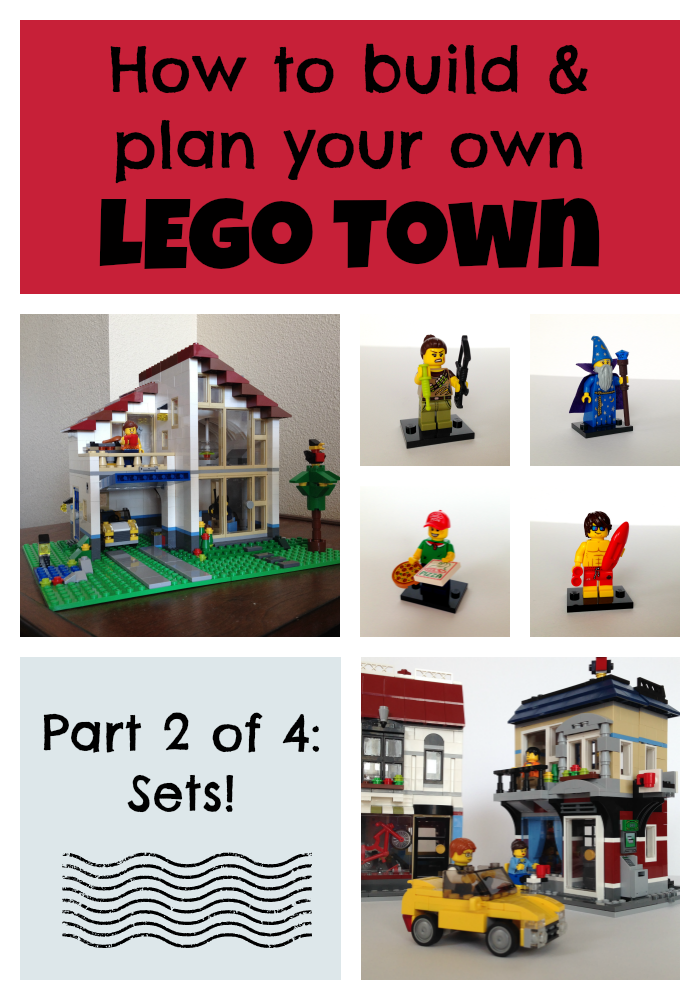 How to build a LEGO town: Part Two - Sets