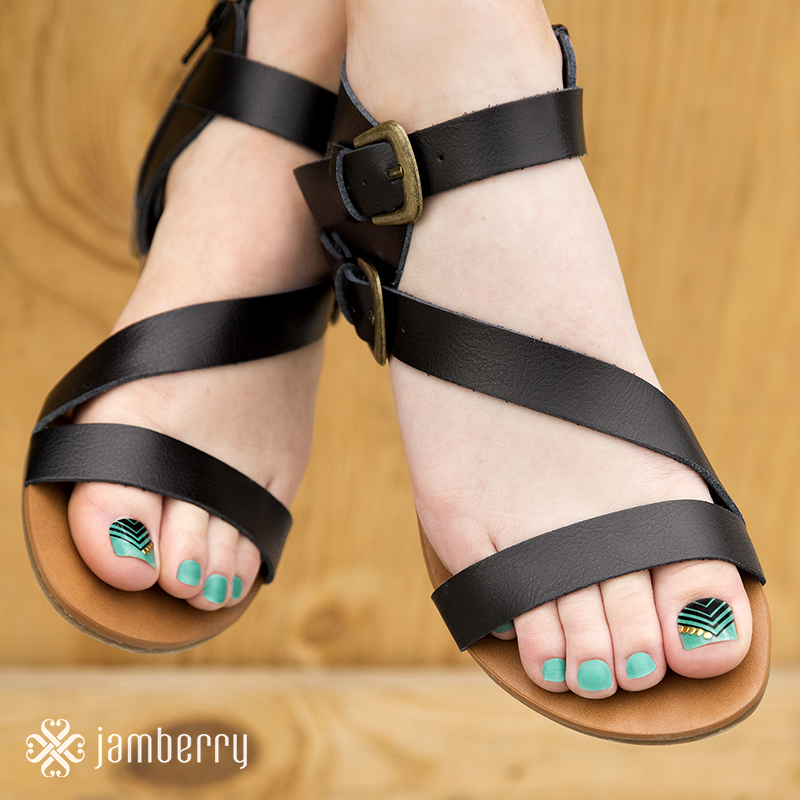 Pedicure-Jamberry-Wraps