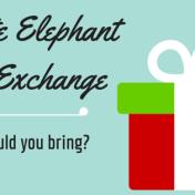 White Elephant Gift