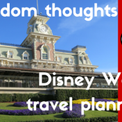 Disney Travel Planning