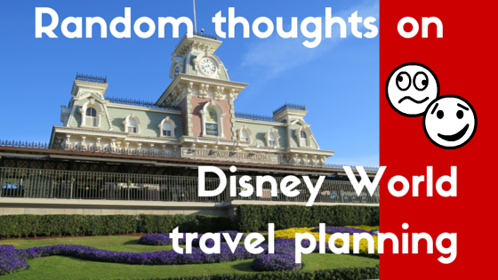 Disney World Travel Planning