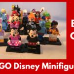 LEGO Disney Minifigures Bump Codes