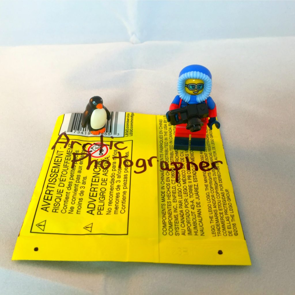 LEGO Minifigures Series 16 Bump Codes: