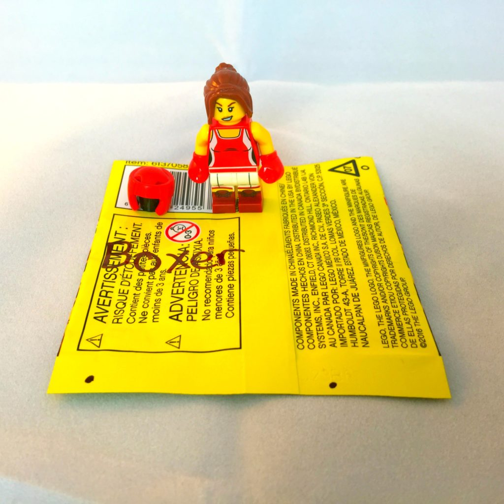 LEGO Minifigures Series 16 Bump Codes